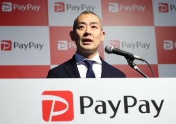 PayPayの中山一郎社長(写真:YUTAKA/アフロ)