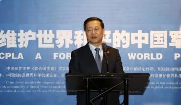 国連本部で「世界平和を守る中国軍」テーマ展開催