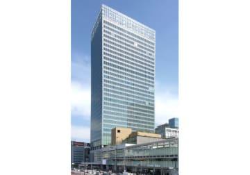 LINE本社が入居しているJR新宿ミライナタワー(「Wikipedia」より)