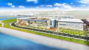 (仮称)沖縄豊崎タウンプロジェクトのイメージ図(大和ハウス工業発表資料より)