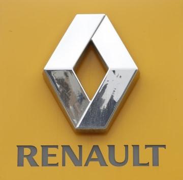 フランスの自動車大手ルノーのロゴマーク
