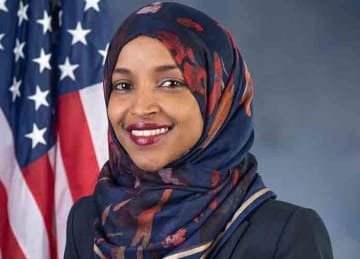 Description English: Rep. Ilhan Omar (D-MN05) Date 3 December 2018 Source: omar.house.gov Author: Kristie Boyd; U.S. House Office of Photoraphy (Wikipedia Commons)