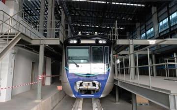 MRTジャカルタは、3月12日から市民を対象にした無料の試乗を実施する(NNA撮影)