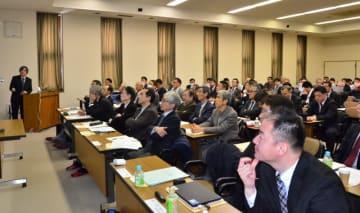ILC関連産業や技術について理解を深める参加者