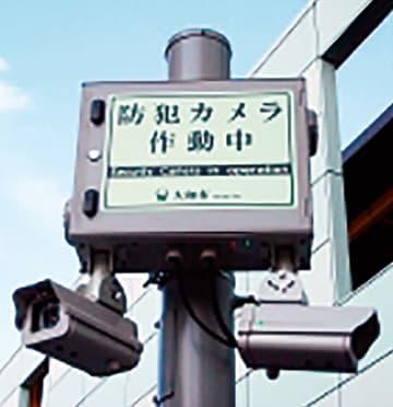 防犯対策として新たに大和駅に防犯カメラ40台設置