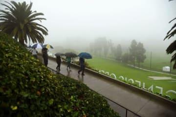 悪天候による大幅な遅れが影響した(撮影:GettyImages)