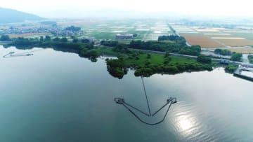 「世界農業遺産」への申請が決まった滋賀県琵琶湖地域(農水省提供)