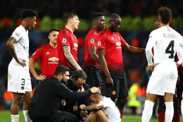 PSGに敗れたマンU photo/Getty Images