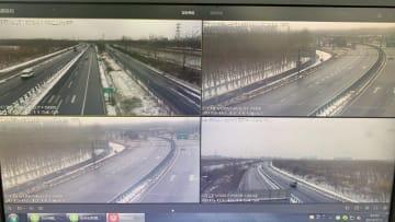 ブラックテクノロジーで除雪 北京市