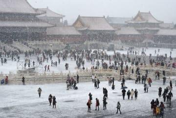雪の紫禁城