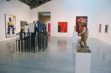 メアリー・ブーン画廊内=2009年(photo: Andrew Russeth)