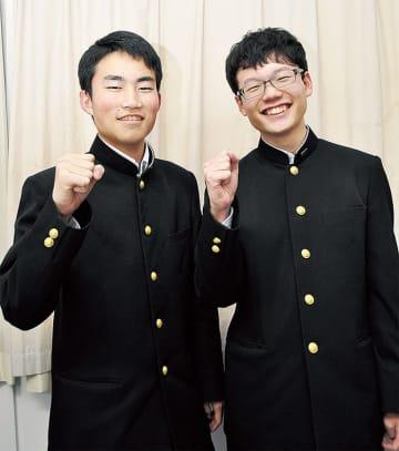 神奈川代表として出場する曵地さん(左)と藤田さん