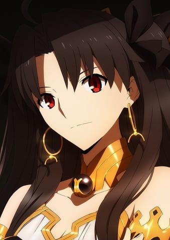 アニメ「Fate/Grand Order -絶対魔獣戦線バビロニア-」のイシュタルのキャラクタービジュアル(C)TYPE-MOON/FGO7 ANIME PROJECT