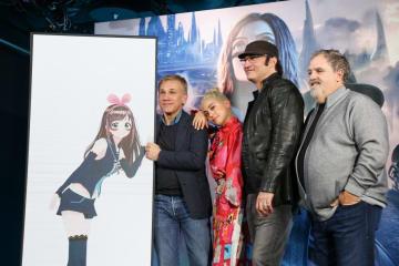 最強バーチャルYouTuber、キズナアイと「アリータ バトル・エンジェル」の来日一行が特別セッション!