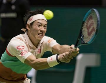 Tennis: Nishikori advances to semifinals in Rotterdam