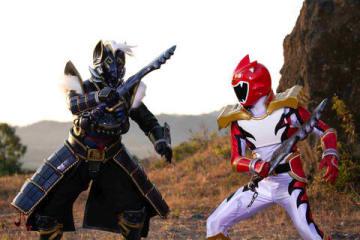 連続ドラマ「トクサツガガガ」に登場するゲンカ将軍(左)とシシレオー=NHK提供