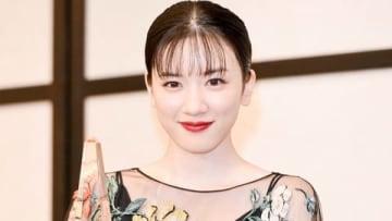 「2019年 エランドール賞」の授賞式に出席した永野芽郁さん