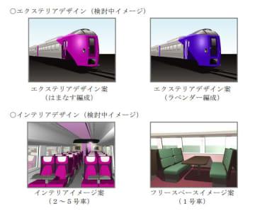 新造する車両のイメージ。(画像: JR北海道の発表資料より)
