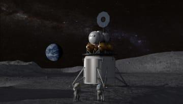 人類は再び月を目指す。月の水資源を活用し滞在を計画