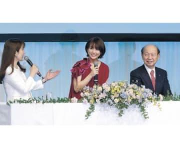 富富富「包容力ある」 富山で初の感謝祭