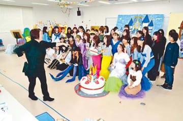 23日に「にんぎょひめ」公演 富山福祉短大生 卒業発表の練習に熱