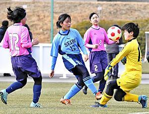 女子サッカー「Jヴィレッジカップ」開幕 憧れ聖地で選手躍動