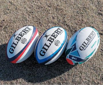 貸し出される、幼児・小学生用のボール