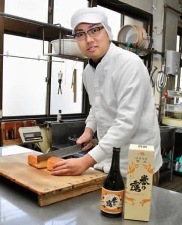 復興の絆銘菓に 被災8道県産米の焼酎原料