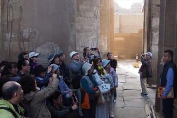 コム・オンボ神殿見学 「太陽の船」エジプトツアー