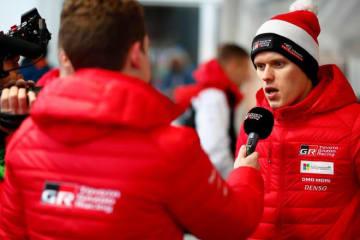 首位浮上のタナク「昨日の頑張りでアドバンテージを得られた」/WRC第2戦スウェーデン デイ3後コメント