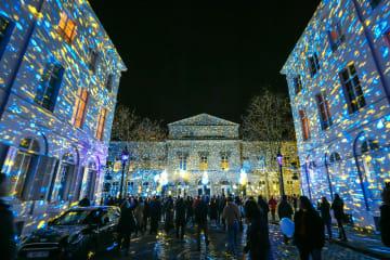 夜の街を彩る光の祭典 ベルギー·ブリュッセル