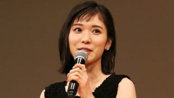 「第61回ブルーリボン賞」の授賞式に出席した松岡茉優さん