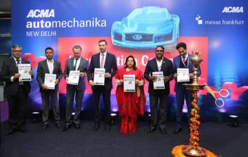 インド自動車部品製造協会は14~17日に展示会を開催した=首都ニューデリー(同協会提供)