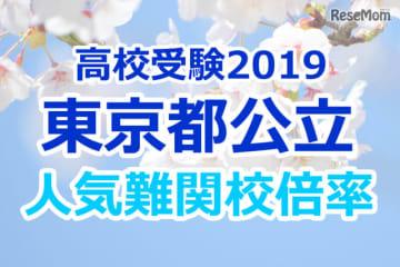 【高校受験2019】東京都公立高校人気難関校…確定出願倍率&偏差値まとめ