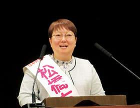 IR誘致に反対を訴える松橋氏