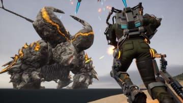 『EARTH DEFENSE FORCE: IRON RAIN』超巨大怪獣「ラズニード」登場!オンライン対戦モードの新情報も