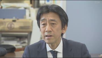 要望書を提出した「シンクキッズ」の後藤啓二代表理事