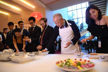 在米中国大使館、中米青年新春祝賀会を開催