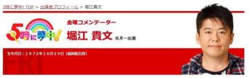 「5時に夢中!」の公式サイトより