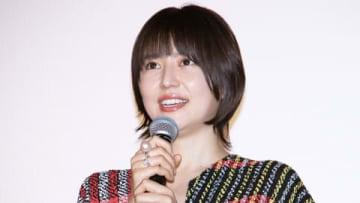 映画「マスカレード・ホテル」大ヒット御礼舞台あいさつに登場した長澤まさみさん