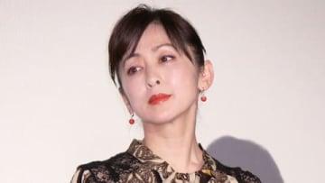 映画「フォルトゥナの瞳」の初日舞台あいさつに登場した斉藤由貴さん