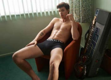 Shawn Mendes Poses Shirtless In His Underwear For Calvin Klein, Breaks The Internet