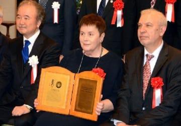 チェルノブイリがん調査に尽力 ウクライナの女性研究者に永井隆平和記念賞 共同研究で長崎にも縁