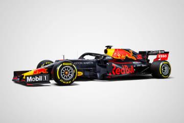 ホンダパワーユニット搭載 F1新型マシンのテストがスタート アストンマーティン・レッドブル・レーシング RB15
