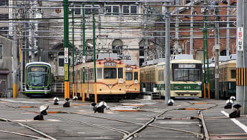 広島電鉄、宮島線3駅と江波線1電停の名称を4/1から変更