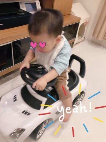 保田圭、息子が気に入った辻希美夫妻からのお祝い品「乗るたびに大興奮」