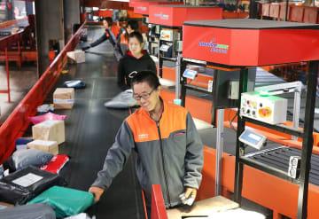 1月の中国宅配発展指数、穏やかに上昇 国家郵政局