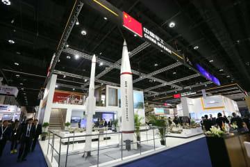 アブダビ国際防衛展覧会に「中国軍事工業」代表団が参加