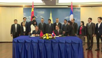 中国とラオス、瀾滄江·メコン川協力の新プロジェクトに調印
