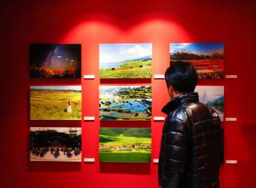ソウルで中韓観光写真展が開幕